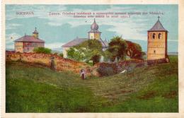 ROMANIA & ARMENIA / ARMENIE : ZAMCA - ANCIEN COUVENT ARMÉNIEN : SUCEAVA / ROUMANIE - ANNÉE / YEAR ~ 1905 - 1910 (w-161) - Arménie