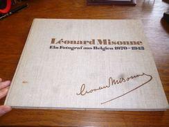 Livre Photographie Léonard Misonne Ein Fotograf Aus Belgien 1870-1943 - Photographie