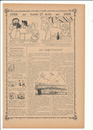 Article De 1903 Le Cerf-volant / Kite   VP198CH-2 - Old Paper