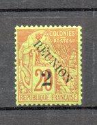 REUNION   N° 31   NEUF AVEC CHARNIERE COTE  6.00€   TYPE ALPHEE DUBOIS - Réunion (1852-1975)