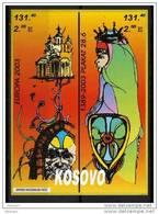 2003X   KOSOVO EUROPA 2003 CEPT  MANIFESTI  MNH
