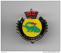 PINS VILLE CHAMBORD CP 41250 LOIR ET CHER 41 BLASON COURONNE / 33NAT - Cities