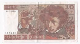 10 Francs Berlioz 4 3 1976 Alphabet O.287 N° 045791 - 10 F 1972-1978 ''Berlioz''