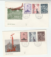 1967 VATICAN FDC Stamps AIRMAIL STAMPS  Cover By Ala - FDC