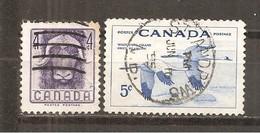 Canada. Nº Yvert  279-80 (usado) (o)