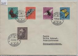 1950 Pro Juventute J133-J137/550-554 - Stempel: Solothurn 9.XII. - Pro Juventute