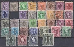 AM-Post Lot Minr.1-35 Gestempelt - Lots & Kiloware (max. 999 Stück)