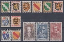 Fr. Zone Minr.1-13 Postfrisch - Lots & Kiloware (max. 999 Stück)