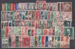 DR Lot 100 Sondermarken Aus 1933-1945 Gestempelt - Briefmarken