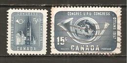Canada. Nº Yvert  298-99 (usado) (o)