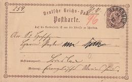 DR Ganzsache Nachv. Sachsenstempel K2 Herrnhut 31.12.73 - Briefe U. Dokumente
