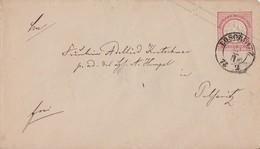 DR GS-Umschlag Nachv. Sachsenstempel Loschwitz - Briefe U. Dokumente