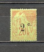 REUNION   N° 45   NEUF AVEC CHARNIERE COTE  4.00€   TYPE ALPHEE DUBOIS - Réunion (1852-1975)