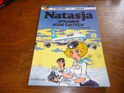 BD Natasja N°8 Opnamen Voor Caltech Voir Verso 1ste Druk ?  Ed Dupuis  Natacha - Natasja