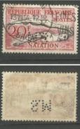 Perforé S.M. Y&T N°960 20 Fr Natation 1953 - Francia