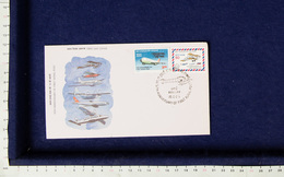 FDC 75th Anniversary Of First Aerial Post - INDIEN INDIA 1986 (A078) - FDC