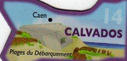 Magnets Magnet Le Gaulois Departement Tourisme France 14 Calvados - Tourism