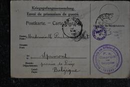 898/ Kriegsgefangenensendung-Torgau-Sprimont - Oorlog 1914-18