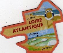 Magnets Magnet Le Gaulois Departement Tourisme France 44 Loire Atlantique - Tourism