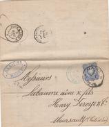 Lettre Mayence à   Meursault Cote D'or France - Allemagne