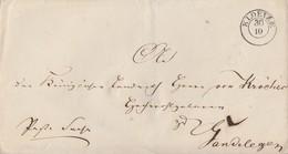 Preussen Brief K2 Kloetze 30.10. Gel. Nach Gardelegen - Preussen