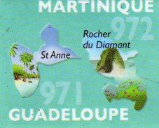 Magnets Magnet Le Gaulois Departement Tourisme France 971 Martinique - Tourism