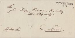 Preussen Brief L2 Swinemünde 5.3. Gel. Nach Stettin - Preussen