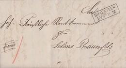 Preussen Ortsbrief R2 Braunfels 16.6. - Preussen