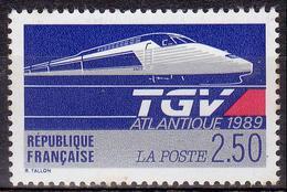 France - YT 2607 - Le TGV Atlantique (1989) - Nuevos