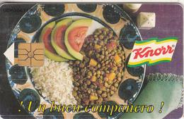 VENEZUELA(chip) - Knorr, 05/97, Used - Alimentación