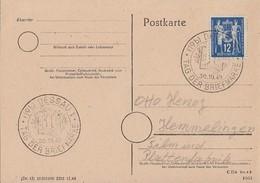 DDR Karte EF Minr.243 SST Dessau 30.10.49 - DDR