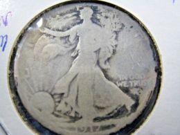 1917S  WALKING LIBERTY HALF DOLLAR                 (sk50-3 Or 4) - 1916-1947: Liberty Walking