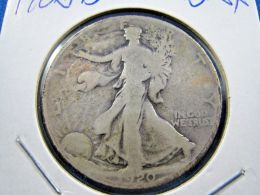 1920D  WALKING LIBERTY HALF DOLLAR                 (sk50-15, 16, Or 39) - Federal Issues