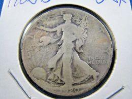 1920D  WALKING LIBERTY HALF DOLLAR                 (sk50-15, 16, Or 39) - 1916-1947: Liberty Walking