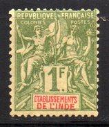 Col 4/ Inde N° 13 Neuf X MH Cote 14,00€ - India (1892-1954)