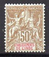 Col 4/ Inde N° 19 Neuf X MH Cote 17,50€ - Unused Stamps