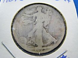 1927S  WALKING LIBERTY HALF DOLLAR                 (sk50-19, Or 41) - Federal Issues