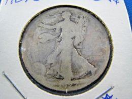 1927S  WALKING LIBERTY HALF DOLLAR                 (sk50-19, Or 41) - 1916-1947: Liberty Walking