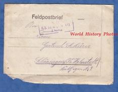 Lettre De 1917 - Soldat Allemand Walter SCHURER De SCHÖNINGEN - Im Felde Feldpostbrief - Infanterie Regiment 473. - WW1 - Deutschland