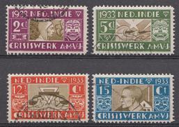 Ned.-Indië 1933 Nvph Nr:182-185 AMVJ  Oblitérés / Used / Gestempeld - Niederländisch-Indien