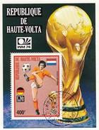REPUBLIQUE DE HAUTE-VOLTA- BLOC WM 74 CRUYFF - OBLIT. OUAGADOUGOU 1974/ 6856 - Coppa Del Mondo