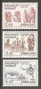 003979 Greenland 1983 Millenary Set MNH - Nuovi