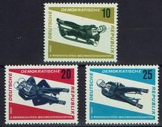 DDR 1966 - MiNr 1156-1158 - Rennrodel-Weltmeisterschaften, Friedrichroda - Briefmarken