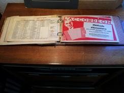 Ringalbum Wasler Album à Anneaux, L'accordeon , Handharmoica Musik-verlag - Partitions Musicales Anciennes