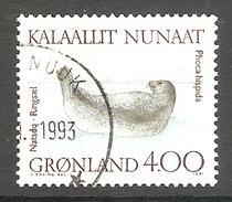 003992 Greenland 1991 Marine Mammals 4.00K FU - Greenland