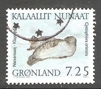 003995 Greenland 1991 Marine Mammals 7.25K FU - Greenland
