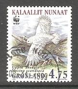 003999 Greenland 1999 Snowy Owl 4.75K FU - Greenland