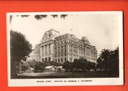 IBW-17  Buenos Aires. Edificio De Correos Y Telegrafo. Used In 1926 - Argentinië