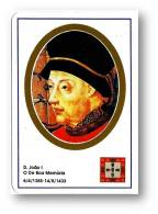 D. JOÃO I - O De Boa Memória - 1385/1433 - N.º 10 -  Monarquia Reis De Portugal Kings Rois - 1993 - Calendriers