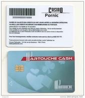 Carte Pour Machines à Sous   CASINO DE PORNIC 44 - Tarjetas De Fidelización Y De Regalo